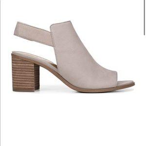 NEW Franco Sarto block heel peep toe shoes
